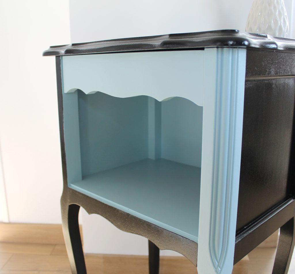 table de chevet ice cube la souris cr ative. Black Bedroom Furniture Sets. Home Design Ideas
